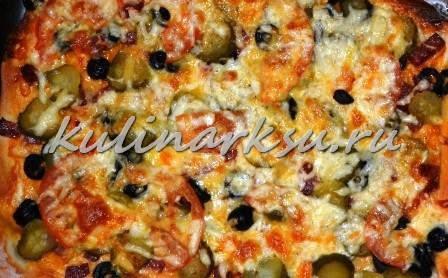 Пицца по-русски