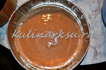Торт «Шоколадная горка»