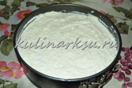 """Торт-пирог """"Малиновое наслаждение"""" – кулинарный рецепт"""