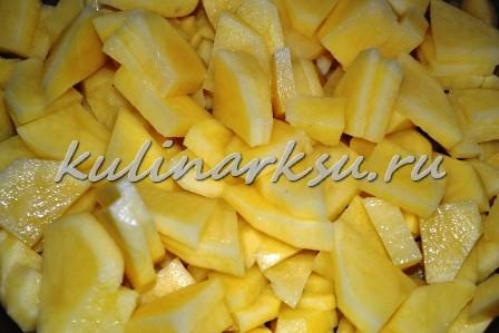 Картошка по-деревенски с салом