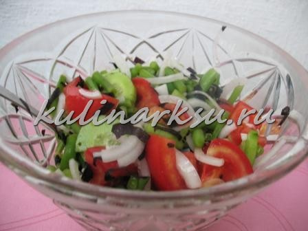 Летний витаминный салат