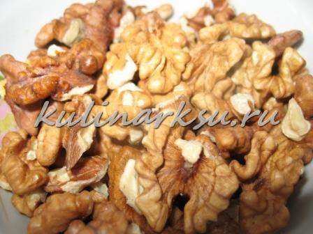 Макароны с ореховой пастой