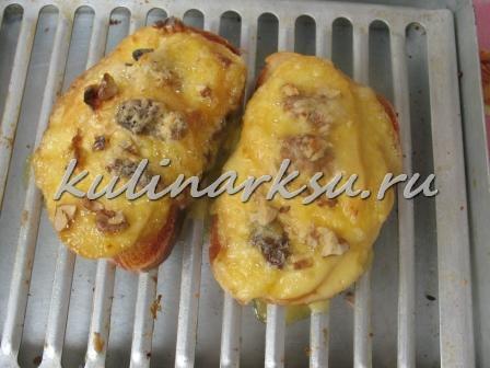 Бутерброды с грушей