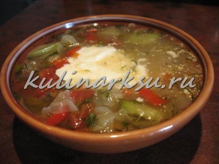 Овощной суп «Крестьянский»