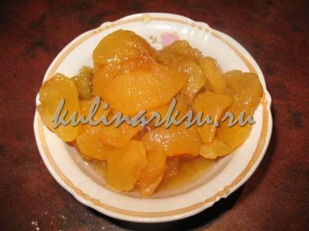 Яблочная коврижка с грушами