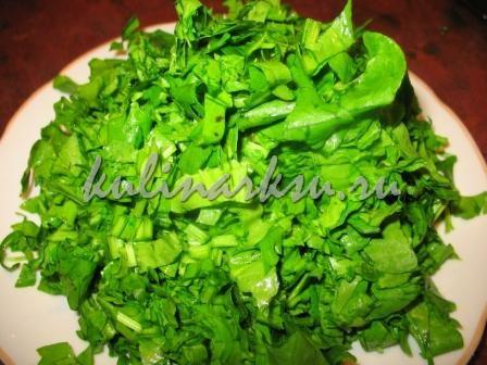 Зеленый борщ