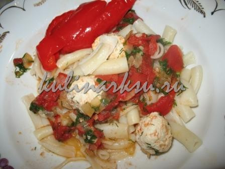 Фрикадельки с соусом из помидор. Диетическое блюдо
