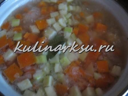Суп-пюре с тыквой