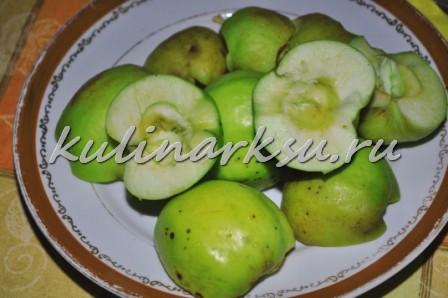 Форель в яблоках