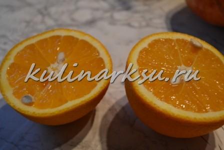 Свинина в апельсиново-соевом соусе