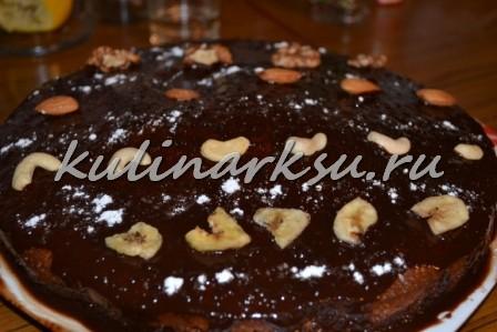 Пирог «Шоколадный цветок»