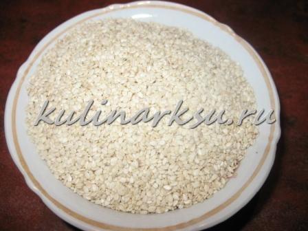 Тахина   (тахини, тхина, кунжутная паста, сезамовая паста)