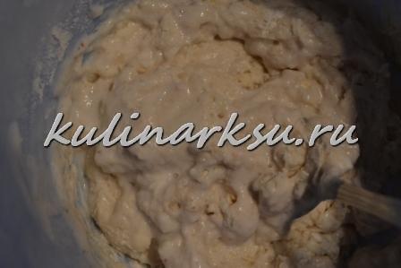 Ореховые оладьи на йогурте
