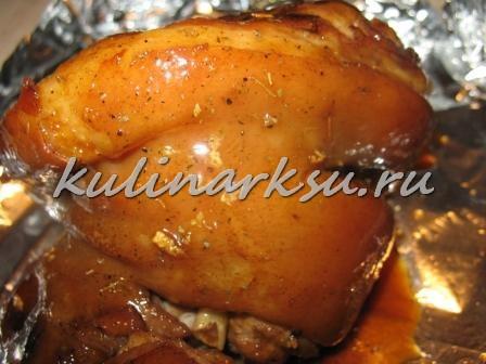 Айсбан (Eisbein) или свиная рулька по-немецки