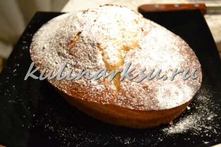 Вкусный кекс «Кораблик»