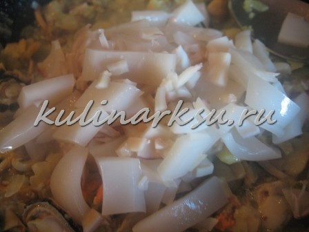 Жульен из морепродуктов