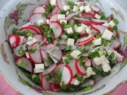 """Вкусный салат """"Витаминный заряд"""""""
