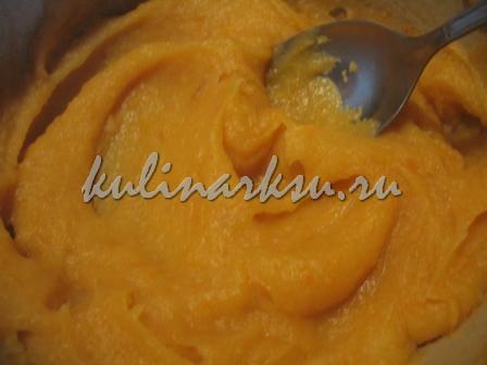 Суп пюре из сельдерея с креветками