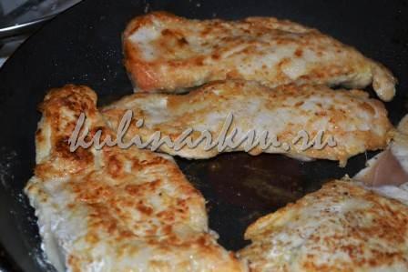 Нежные куриные отбивные в сыре