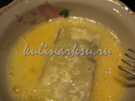 Рыба в кляре из яйца
