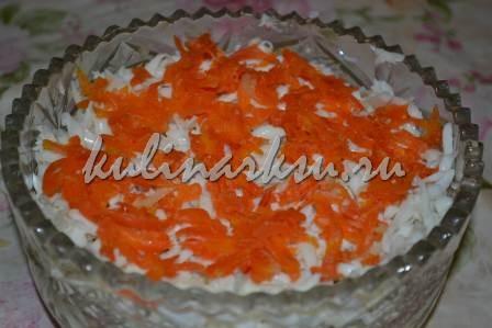 Праздничный салат из рыбы
