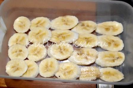 Клубнично-банановый тирамису