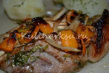 Вкусное мясо в пикантном маринаде